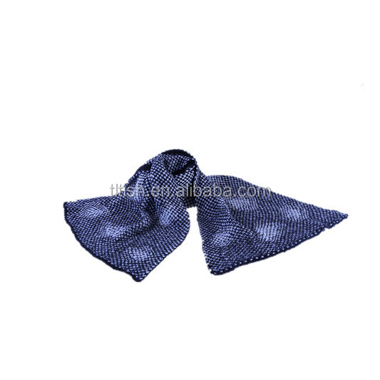 HIGH quality fashion star pattern knitting scarf