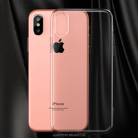 mobile tpu transparent case girl tpu hard pc heat proof phone case for Apple iPhone X for iPhone 8 waterproof cell phone case