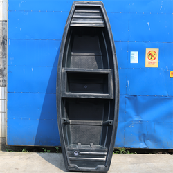 2.8M cheap roto molded small plastic rowing boat LLDPE fishing boat for sale
