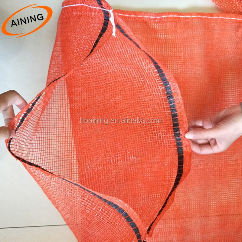 Mesh Bag for Onions Potato Oranges Vegetables Garlic Firewood / PE PP Leno Mesh Bag
