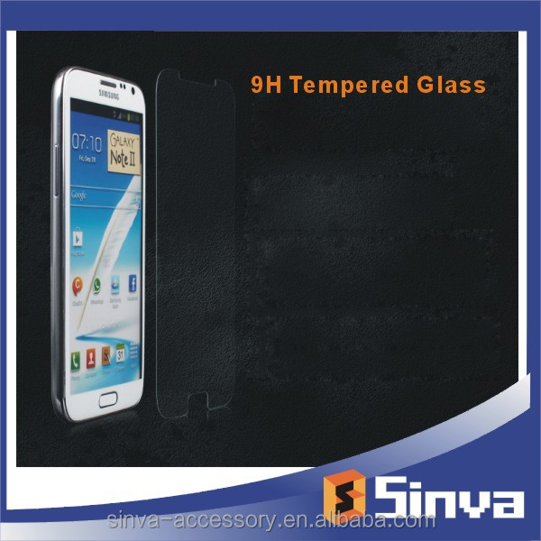 Clear Anti-Shock Premium 9H Tempered Glass Screen Protector for Samsung galaxy s6 factory supply