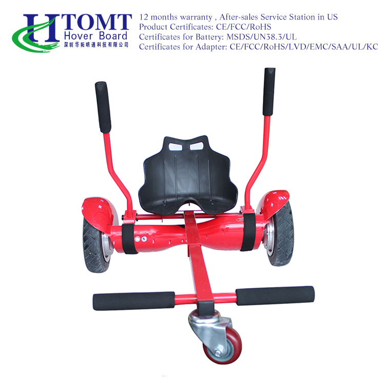 New Products CE approved hoverkart for two wheel self balance hoverboard adult pedal go kart