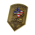 America Shield Custom Metal Old Coins Antique