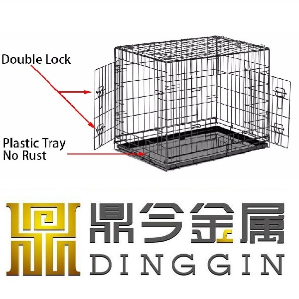 Large Factory Metal Pet Cages