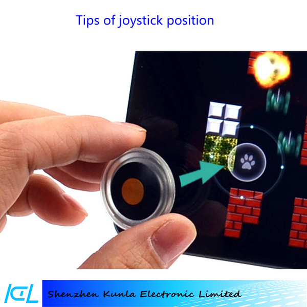 2015 factory price arcade mobile joystick, game button controller for Iphone 5s/6/6s/6s plus, Ipad Air/mini/Pro