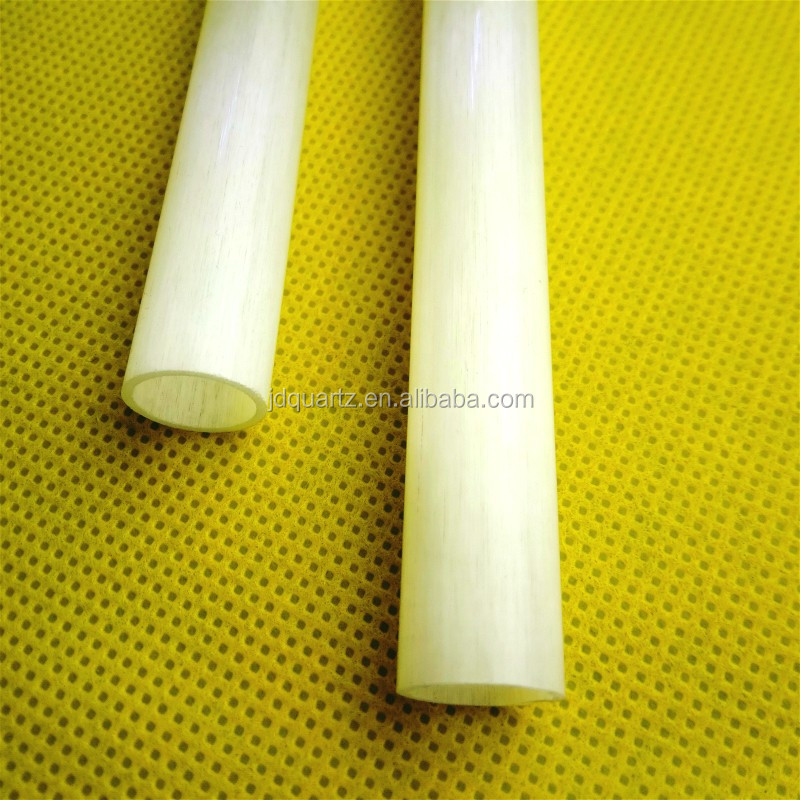 JD High Quality Heat Resistant Frosted Lamp Glass Tubes