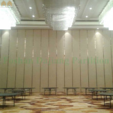 Acoustic Wooden Folding Door Partition for Banquet Hall