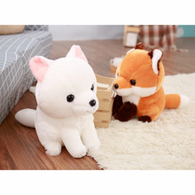 Creative Cute Long Tail Plush Fox Animal Toy