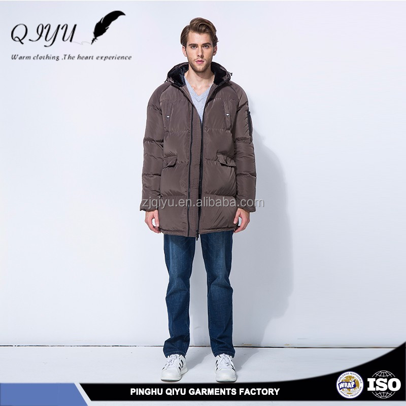 Breathability garment factory in china winter clothes down jacket for winters