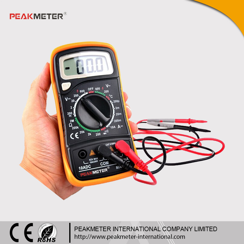 Same to Mastech MAS838 Manual Range RoHS and CE Multimeter