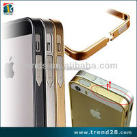 buy direct from china aluminum screw metal bumper case for iphone 5 5s