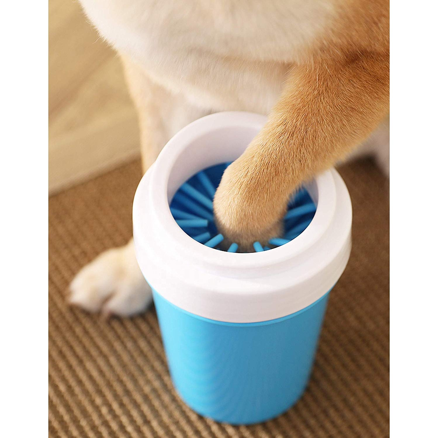 Dog Paw Cleaner Portable plunger Silicone dog pet <strong>friction</strong> washer Grooming cleaner paw pet