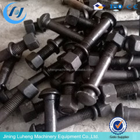Competitive price undercarriage parts cutting edge track bolt&nut