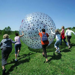 Top grade customize inflatable zorb ball children