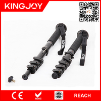 Kingjoy MP series flip tripod monopod, focal tripod monopod, folding work stand monopod MP408F