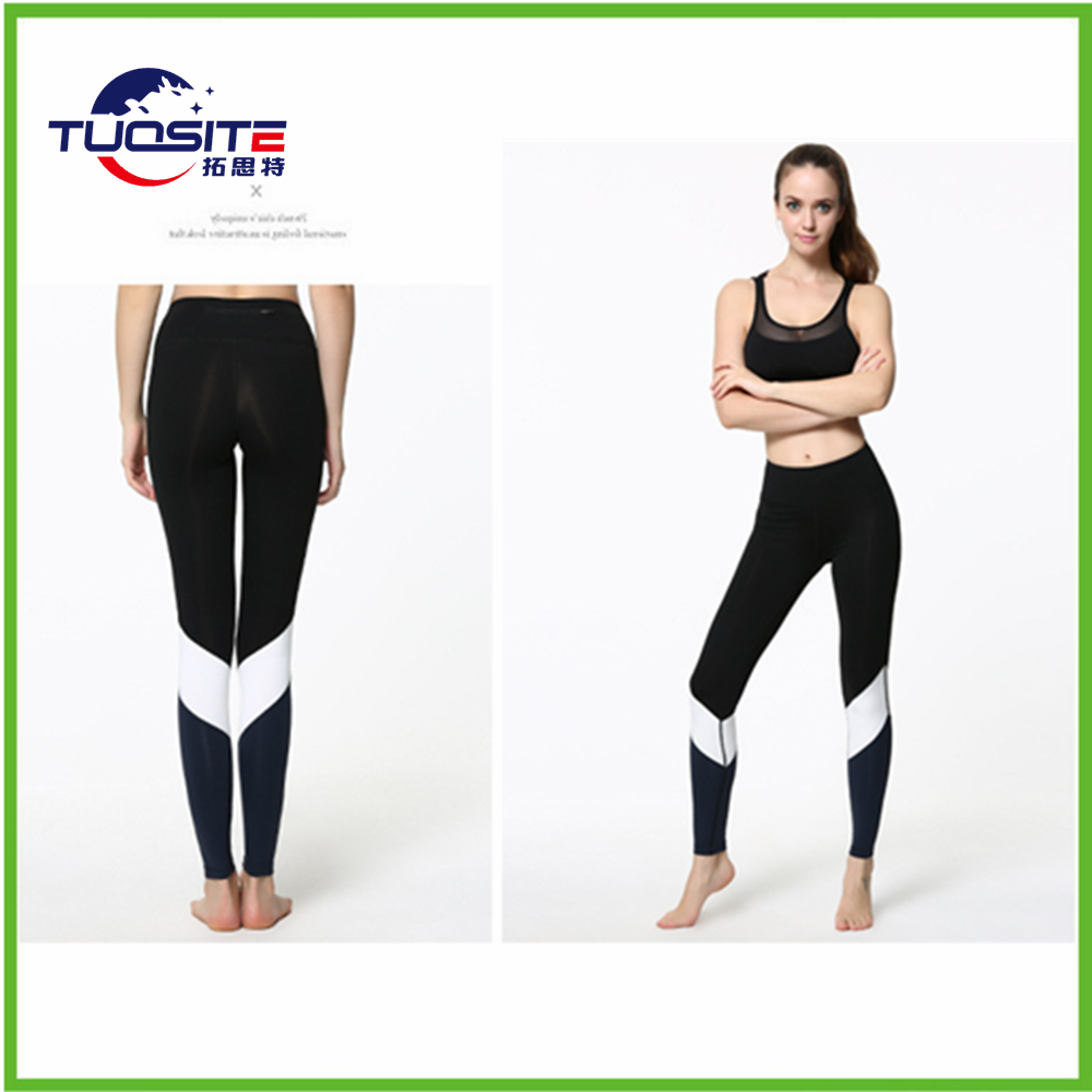 Custom made women compression leggings yoga running tight ladies sports wear active pants