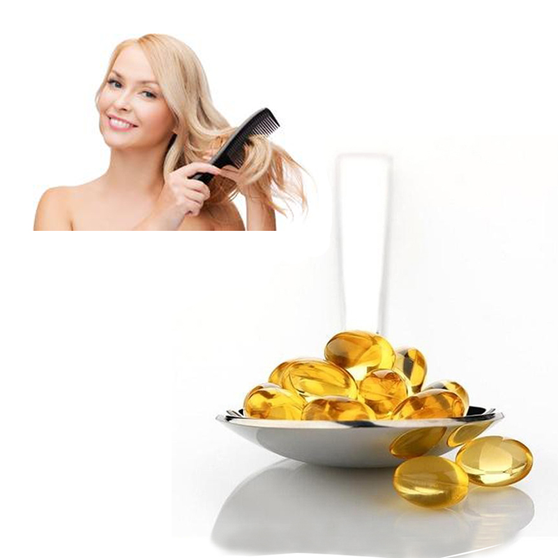 Make the hair thicker vitamin e capsules