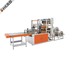 HERO HDPE LDPE PE Biodegradable Cloth Patch Carry paper Polythene Garbage T-Shirt Shopping Plastic Bag Making Machine Price