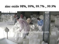 supporting 2011 low price 98%zinc oxide----Rubber tires, ceramics, the chemic...