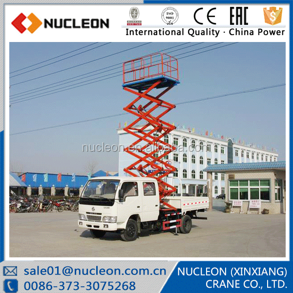 Nucleon Hydraulic scissor lift overhead working platform