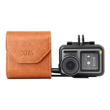 PU Leather camera Case Bag For GoPro HERO7