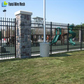 Cheap Powder coated high quality Forged Iron Fence
