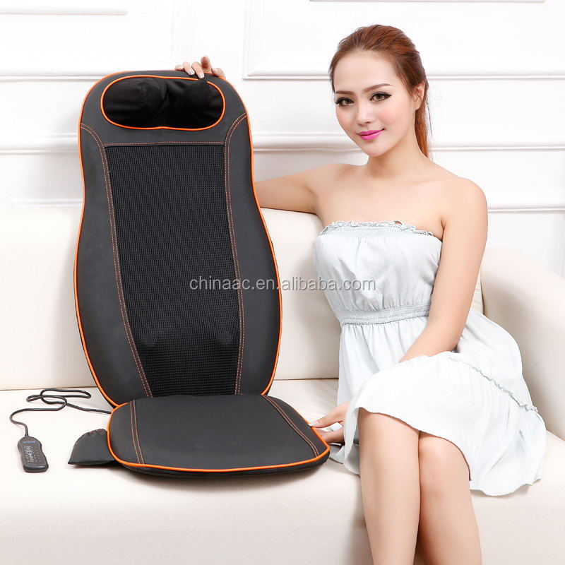 car seat back massage cushion
