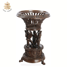 Wholesale Cheap Antique Bronze Flower Pot NT-BS406