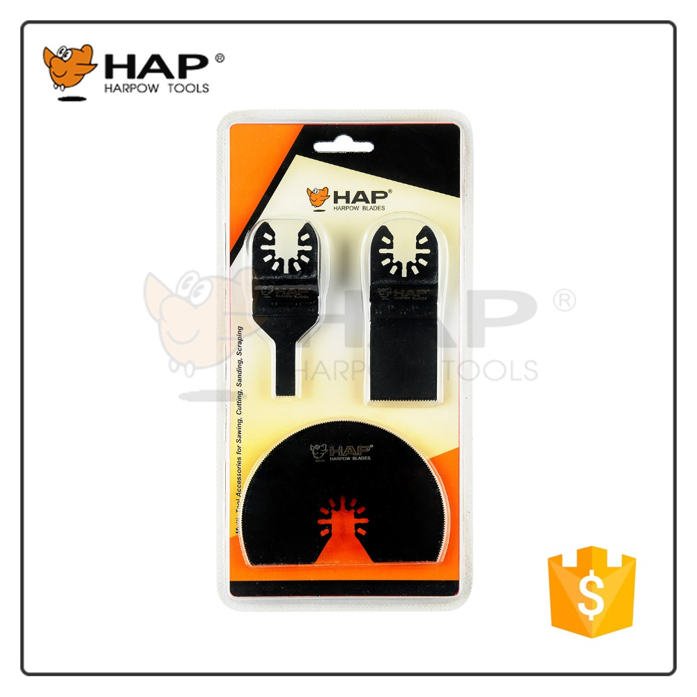 Harpow Multitool Blade Set Cutting Saw Blades for Oscillating Multi tools