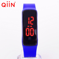 AD8089 Hot selling Promotional digital silicone LED watch/Cheap sport LED watch