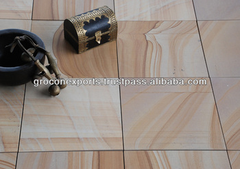 Buff Sandstone Tile & Slab
