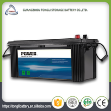 12v new lead-acid car 170ah truck battery cells for sale