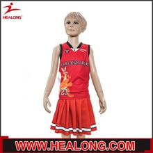 school cheering uniforms european basketball uniform design for girls
