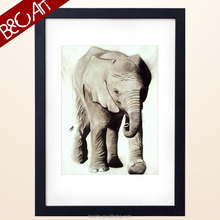 Z(9420) Famous animal of elephant oil painting for lobby