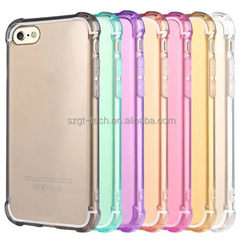 For iPhone 7 case TPU Soft Ultra thin Transparent Clear Cell phone case for Iphone 5 6 7 Cover