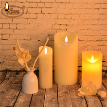 Wax Flameless LED Candles 3 Pack