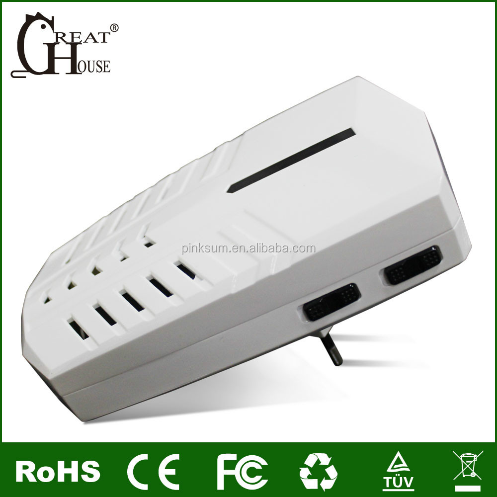 GH-701 4 IN 1 Multifunctional Electronic Ultrasonic Pest Control