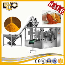 Top rated ultra smart premade bag counting full automatic rotary Fried chicken powder tray packaging machinery