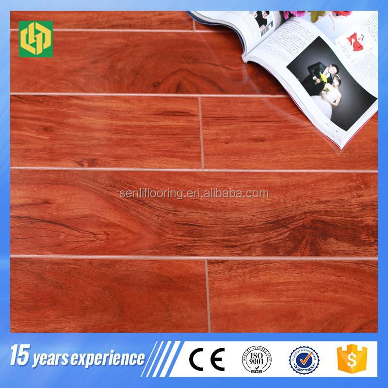 8mm German HDF American red oak wood Laminate Floor