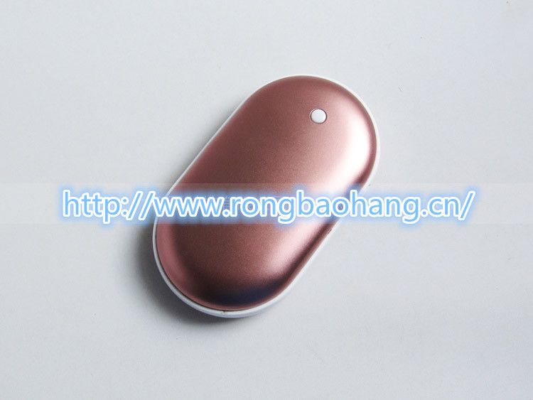 Warm hand mobile power 5000 mAh Shenzhen creative warm hand charge treasure