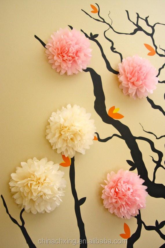 Объемные цветы из бумаги своими