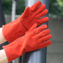 NMSAFETY supplier china cow split leather welding gloves welding gloves