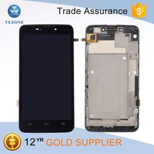 Wholesale Mobile Phone Lcd for zte max boost N9520 lcd assembly with frame