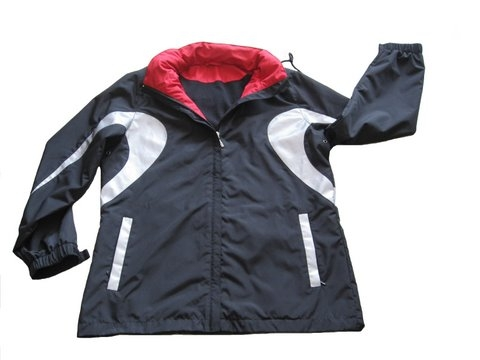 custom design mens outer wear reflective light weight windbreaker sports jacket