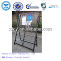 High Quality Metal Wire Folding/Stacking Newspaper Rack (ISO Aproved)