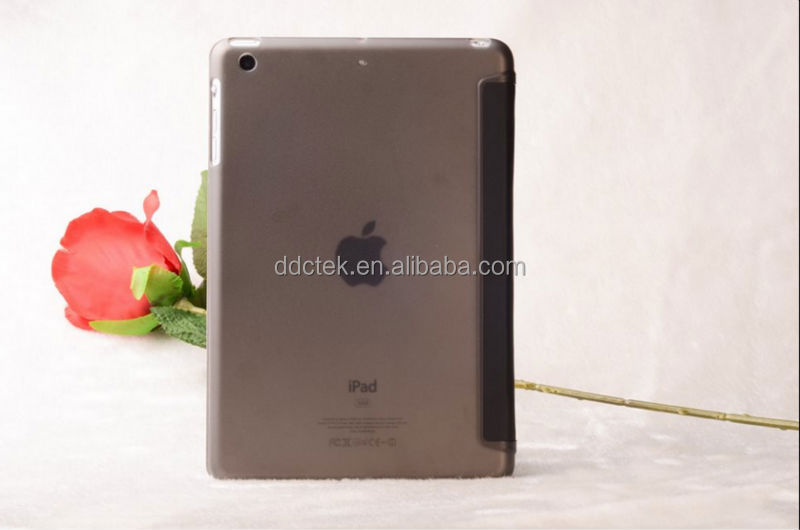 Popular PC and PU leather cover for ipad case for apple ipad air