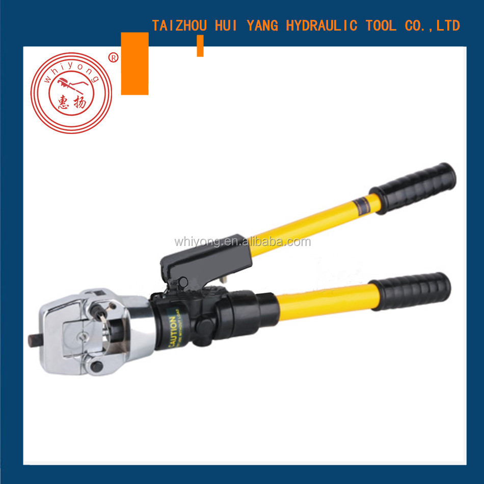 WHIYONG WG-400C hydraulic crimping tool safety valve inside cable lug hydraulic crimping plier
