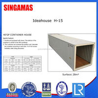 40ft Movable Demountable Container Houses