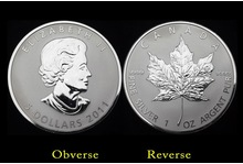 maple leaf replica coin for 2016 fashoin Valentines Gift