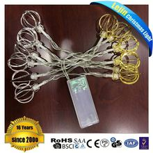 Battery Operated LED Light Sear for Holiday Decoration